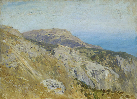 Isaac Levitan. Cornish. The South Of France