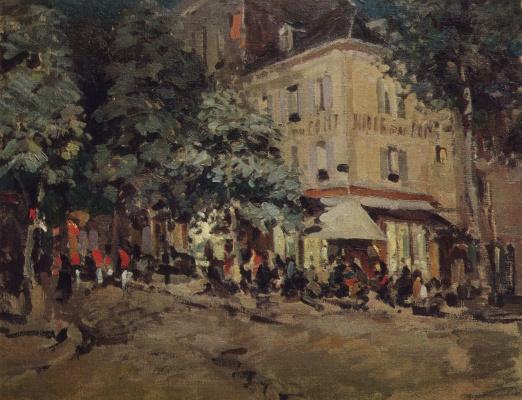 Konstantin Korovin. Street in Vichy