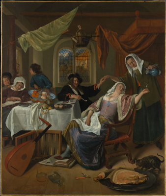 Jan Steen. Rascal family