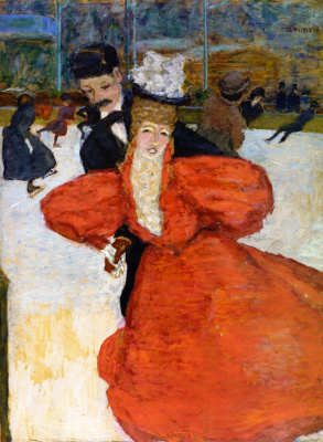 Pierre Bonnard. Skaters