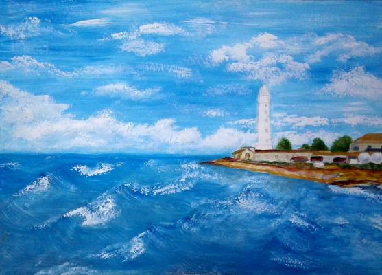Julia Sergeevna Bochkareva. Chersonesus lighthouse