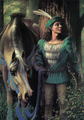 Аликс Берензи. Конь