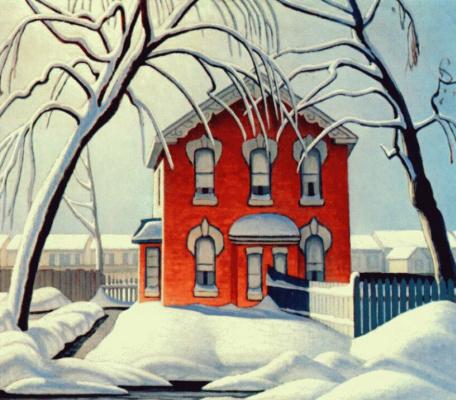 Лоурен Харрис. Красный дом