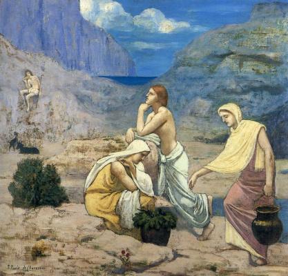 Pierre Cecil Puvi de Chavannes. The shepherd's song