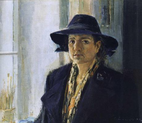 Сергей Федорович Шишко. Портрет жены