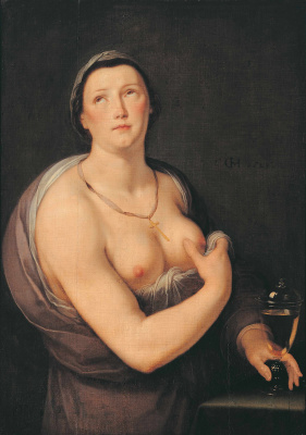 Cornelis van Haarlem. Allegory of faith