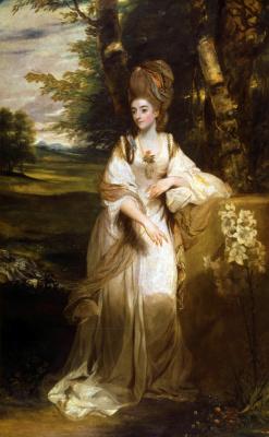 Joshua Reynolds. Lady bumpfield