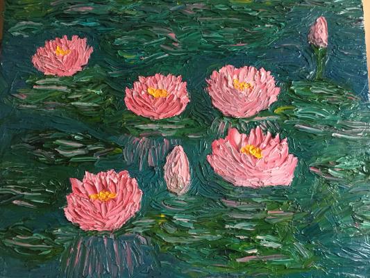 Victoria Valentinovna Zachkova. Water lilies