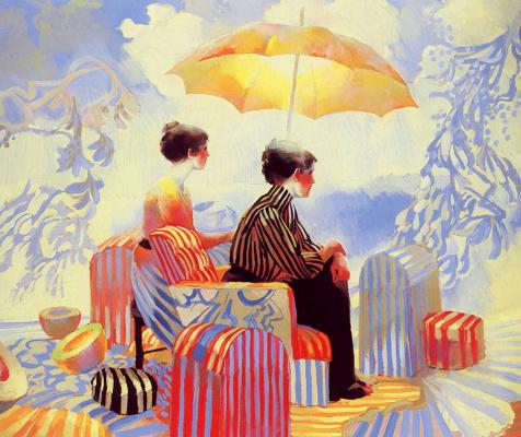 Кит Линдберг. Пляжные дорожные сундуки