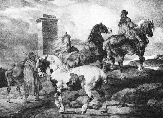 Теодор Жерико. Лошади