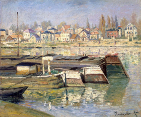 Claude Monet. The Seine at Asnières