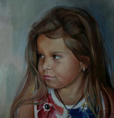 Nataliya Vladimirovna Telesh. Портрет по фото