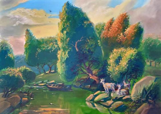Daniil Litvinov. Китайский парк