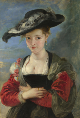 Peter Paul Rubens. Portrait Of Suzanne Forman