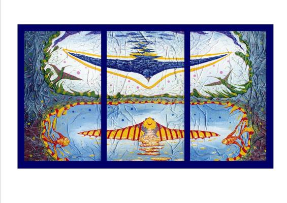 Юрий Владимирович Сизоненко. Triptych: Free flight.
