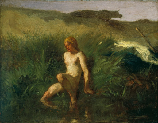Jean-François Millet. Bather