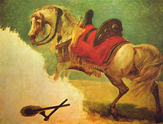 Антуан-Жан Гро. Конь Мустафа-паши