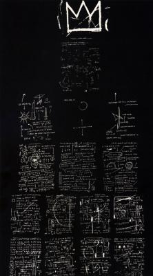 Jean-Michel Basquiat. Tuxedo