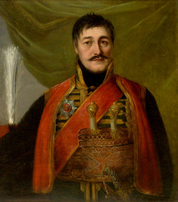 Vladimir Lukich Borovikovsky. Portrait Karageorge