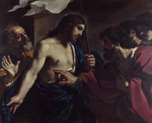 Джованни Франческо Гверчино. Неверие святого Фомы