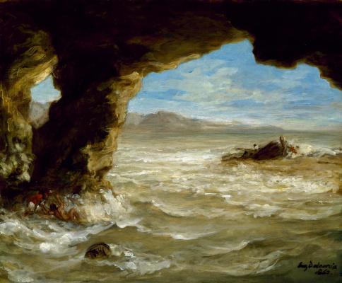 Кораблекрушение у побережья