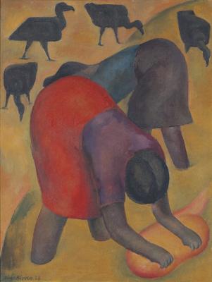 Диего Мария Ривера. Прачки и грифы