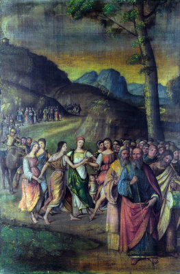 Lorenzo Costa. The Story Of Moses