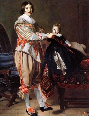 Томас де Кейзер. Де Кейзер и его дочь