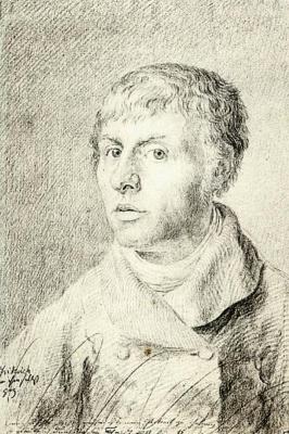 Caspar David Friedrich. Self-portrait