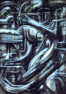 Hans Rudolph Giger. Biomechanical interior