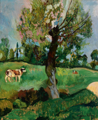 Suzanne Valadon. Alder in the meadow