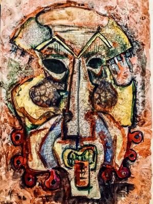Islam Ilgar Hasanizade. Mask