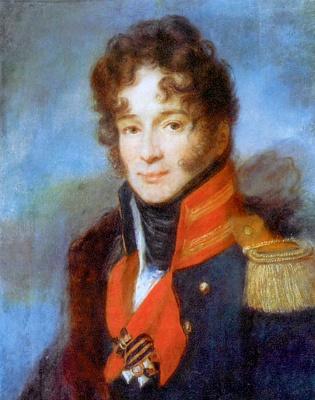 Alexey Gavrilovich Venetsianov. Portrait of the commander of the life guards Dragoon regiment P. A. Chicherin
