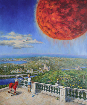 Tatyana Chepkasova. Dream of the red planet