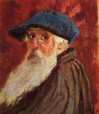 Camille Pissarro. Self-portrait