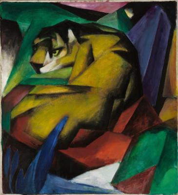 Franz Marc. Tiger