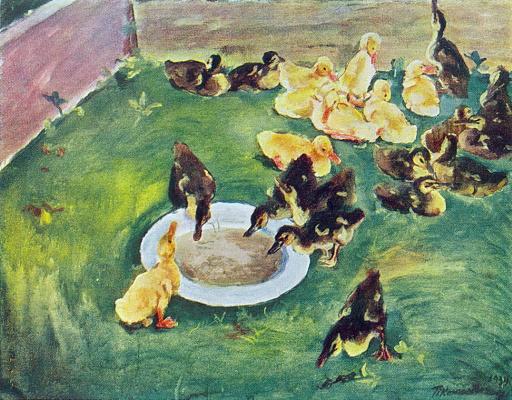 Petr Petrovich Konchalovsky. Ducklings