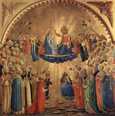 Fra Beato Angelico. Coronation of the Virgin Mary