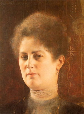 Gustav Klimt. Portrait of a lady (Mrs. Hayman)