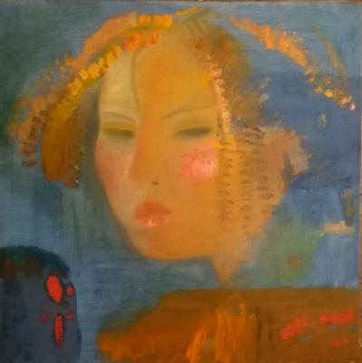 Nikolay Evlampievich Sokolov. Girl
