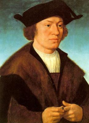 Йос ван Клеве. Портрет