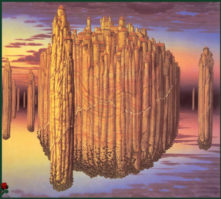 Jacek Yerka. Theory of tension