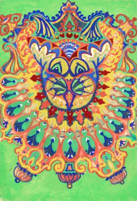 Louis Wain. Sicilian Cat Kaleidoscope