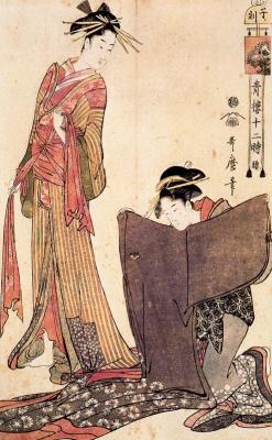 Китагава Утамаро. Наряды
