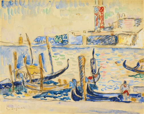 Paul Signac France 1863 - 1935. Venice. 1904