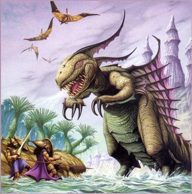 Rodney Matthews. Leviathan