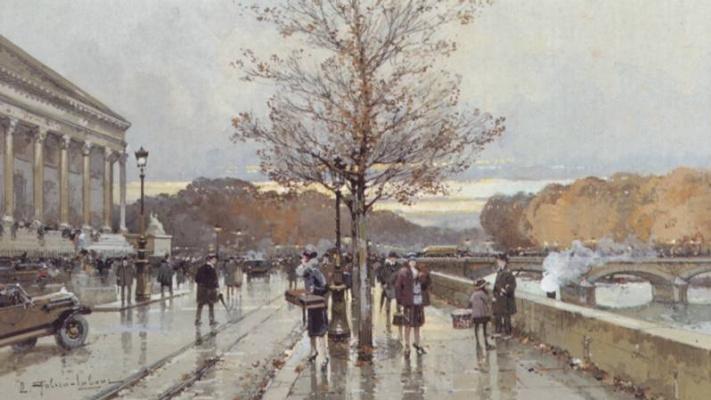 Эжен Галиен-Лалу. Мост
