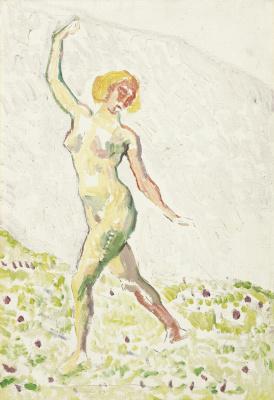 Ferdinand Hodler. Dance