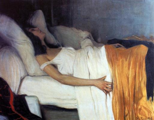 Santiago Rusignol. Morphine