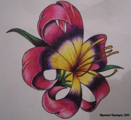 Alexey Olkhovatsky. Little flower